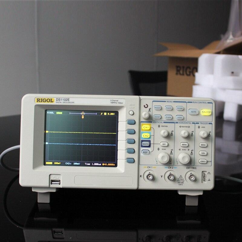 Original RIGOL font b Digital b font Oscilloscope DS1102E 100MHz 1GSa S DSO