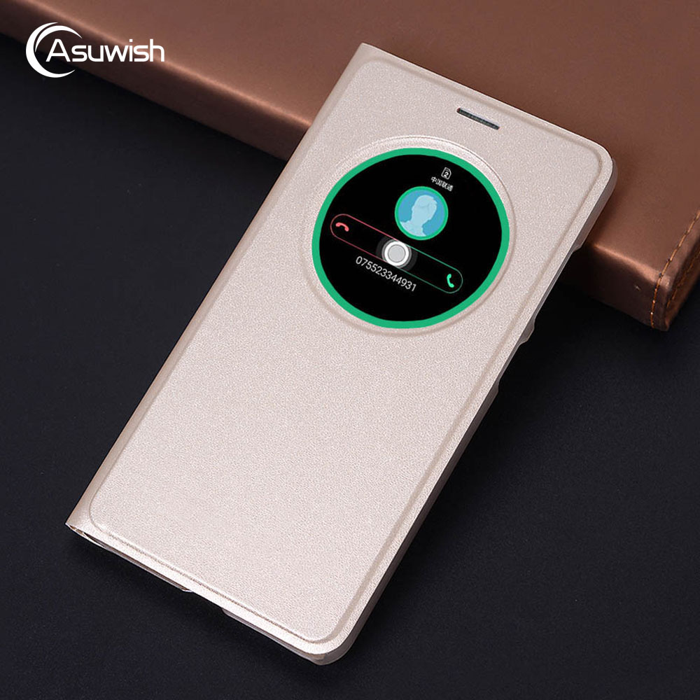 Flip Cover Smart View Leather Phone Case For Asus Zenfone 3 Laser Zenfone3 ZC551KL ZE520KL ZE552KL <font><b>ZE</b></font> 520KL 552KL <font><b>520</b></font> 552 <font><b>KL</b></font> image