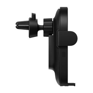 Image 3 - Original Xiaomi Wireless Car ChargerอัจฉริยะอินฟราเรดSensor Qi Fast Charging Miโทรศัพท์ผู้ถือWCJ02ZM 20วัตต์สูงสุดสำหรับiPhone