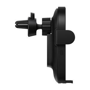 Image 3 - Оригинальное беспроводное автомобильное зарядное устройство Xiaomi с интеллектуальным инфракрасным датчиком, Быстрая Зарядка Qi, автомобильный держатель для телефона Mi WCJ02ZM 20 Вт Max для iPhone