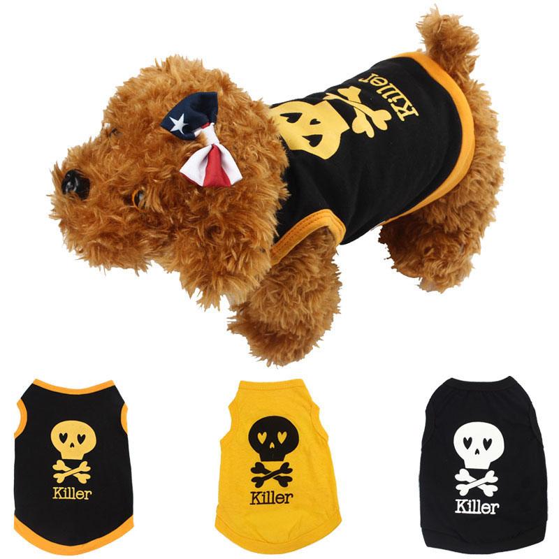 Drop-Shipping-100-New-Summer-Stylish-Skull-Print-Cute-Small-Pet-Dog-Clothes-Cotton-Sportwear-Vest