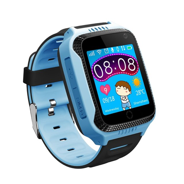 GPS Location Wristwatch 1.44 inch Color Touch Screen Intelligent Positioning Sma