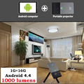 Mini Proyector Led Full HD 1080 P 1000 Lúmenes 5G Wifi Bluetooth HD Portátil Inteligente Android Proyector USB $ number Para Android TV PK UC46