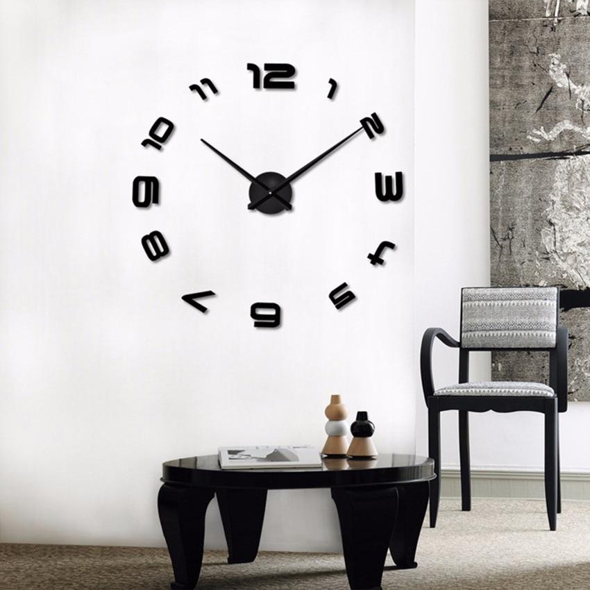 2020 Ora e re e heshtur e murit Saat Dekorimi i stilit klasik të - Dekor në shtëpi - Foto 4