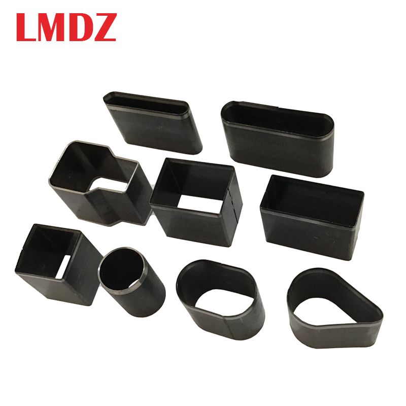 LMDZ 5Pcs/Set  Hole Space Cutter Punch Handmade DIY Leather Craft Embossing Punching Tool Set For Leather Belt Phone Holster