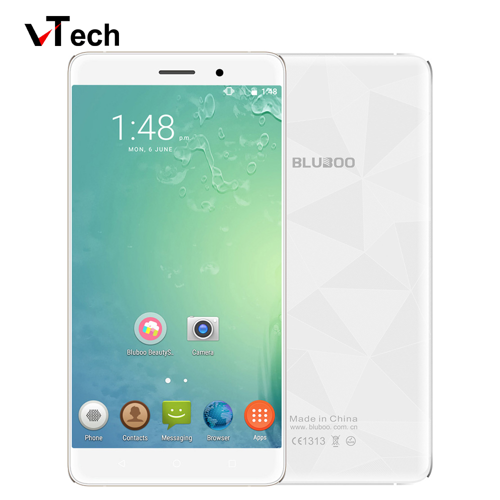 bilder für Original Bluboo Maya 3G WCDMA MTK6580A Quad Core 1,3 GHz Android 6,0 5,5 ''HD 1280x720 P 2 GB RAM 16 GB ROM Dual-SIM-Handy telefon