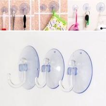 Sucker-Hooks Bathroom-Hanger Plastic 5pcs Balloon-Decoration Removable Suction-Cup Rubber