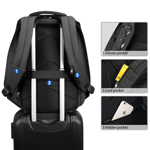 Image 5 - Tigernu Fashion Women Casual Backpack Anti Theft 15.6 inch Laptop Waterproof Men USB Charging Travel High Quality Backpacks Bags