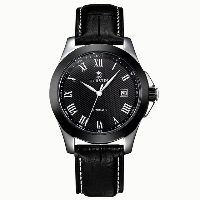 OCHSTIN Alta Calidad Relojes de Marca de Lujo Para Hombre Mecánico  Automático Esquelético Del Reloj Mecánico 043ed6f83af5