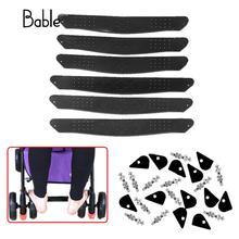 Детская коляска для ног, подножка для ног, ножка для ног, детская коляска, компактные аксессуары для коляски, высокое качество, черный цвет