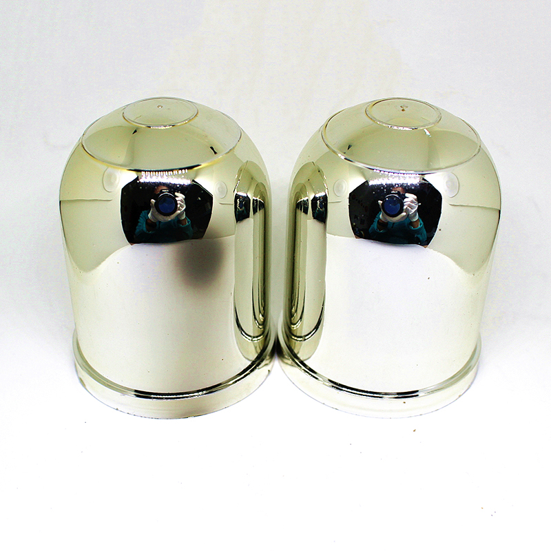 2 1-7/8Trailer Ball Protection Cap 2pcs/lot HitchBall Cover Tow-Ball Cap Trailer Protection Ball Cover Silver Plastic