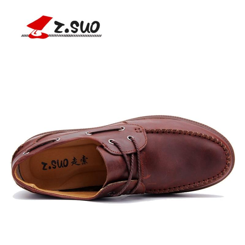 Manières Hommes Zs5c168 Zapatos Chaussures Occasionnels Mode Bottes Cuir En Z Antiques marron De Cuero Reconstituant Hombres Chaussures Faibles ivoire Noir Suo Los Obligataires Des wxqf6faF5