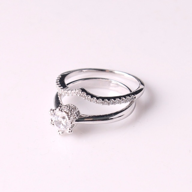 Druzy Special Couple Promise Ring Set Personalized His One