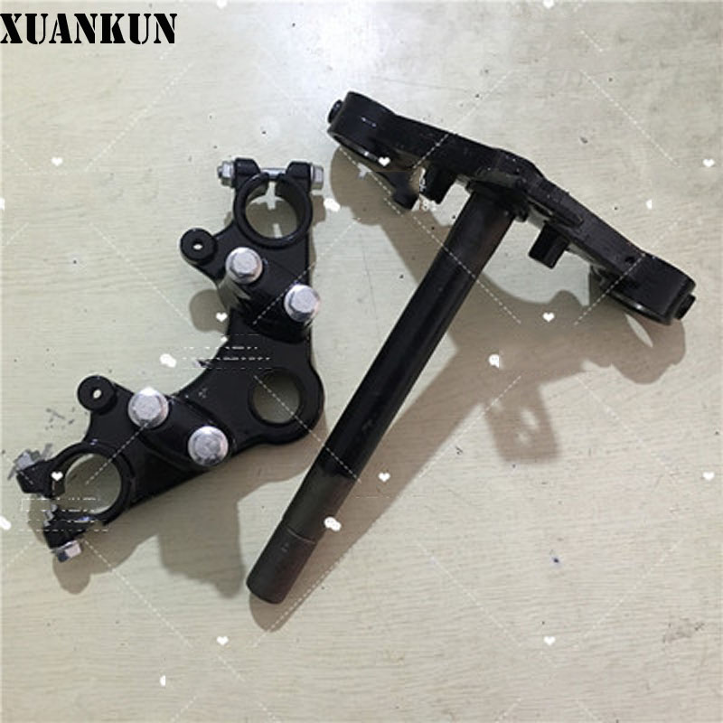 XUANKUN Motorcycle Accessories Up And Down Board CBT125 Direction Column