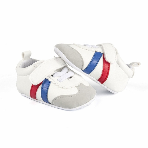 Newborn Baby Boys Girls Sports Shoes First Walkers Toddlers Casual PU Sneakers Sports Running Hook Loop Shallow Shoes 0-1Y Islamabad
