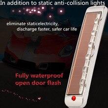 Автомобильные аксессуары, Солнечная Антистатическая Sollision светодиодная многофункциональная Предупреждение льная лампа, светодиодные лампы для автомобильных аксессуаров