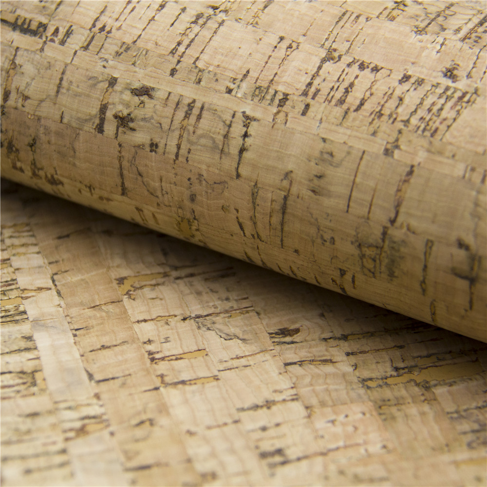 cork fabric 68*50cm/27.5*19.6inch natural Rustic Cork leather Vegan Leather Fabric,Natural , COF-31 textile creations 1336 rustic woven fabric small