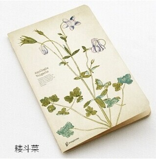 Notebook Classical Chinese Style Samurai Horses Exquisite Notebook 32K Thick School Supplies Stationery Cute Kawaii