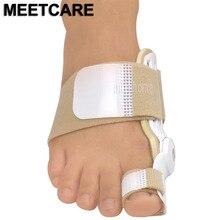 Оригинальный большой палец ног вальгусной Ортез банен коррекции шину пальцы Выпрямитель Корректор ноги облегчить боль уход за ногами