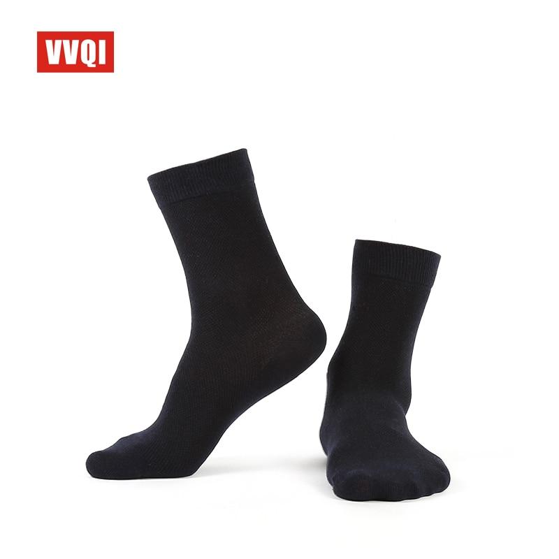 VVQI Brand socks men thin cotton Sweaty odor proof mens socks winter black rice white business socks 6 pairslot designer socks