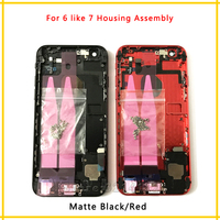 New Back Chassis Full Housing Assembly Battery Cover With Flex Cable For Iphone 6 Or 6S