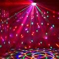 LED Освещение Сцены DMX512 RGB Цвета С Пультом дистанционного управления Кристалл Магический Шар Лазерного Света Дискотека DJ Партии быстрый корабль VR