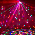 LED Stage Lighting DMX512 RGB Color With Remote Controller Crystal Magic Ball Laser Light Disco DJ Party fast ship VR