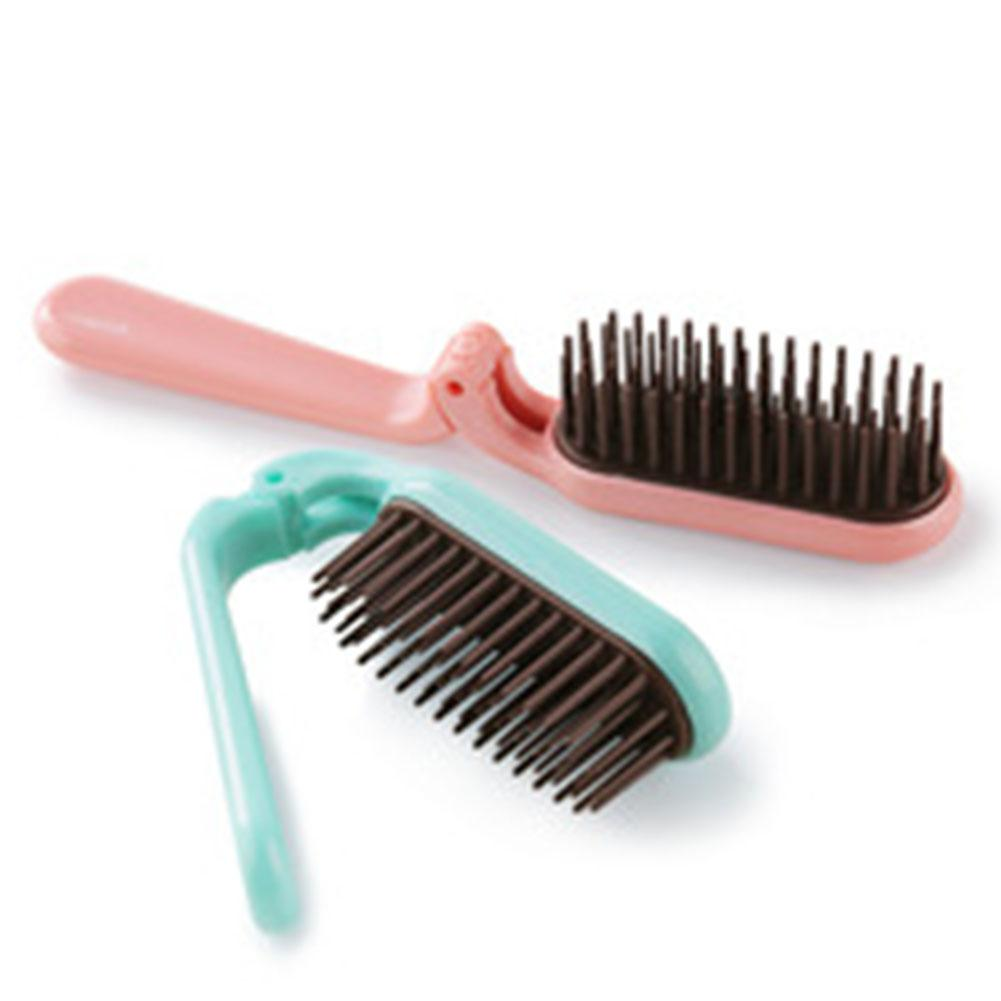 BellyLady Pocket Folding Hair Brush Comb Portable Collapsible Travel Scalp Massage Comb
