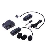 2 4G Wireless Transmission Microphone Speech Headset Megaphone Radio Mic For Loudspeaker Teaching Meeting Tour Guide