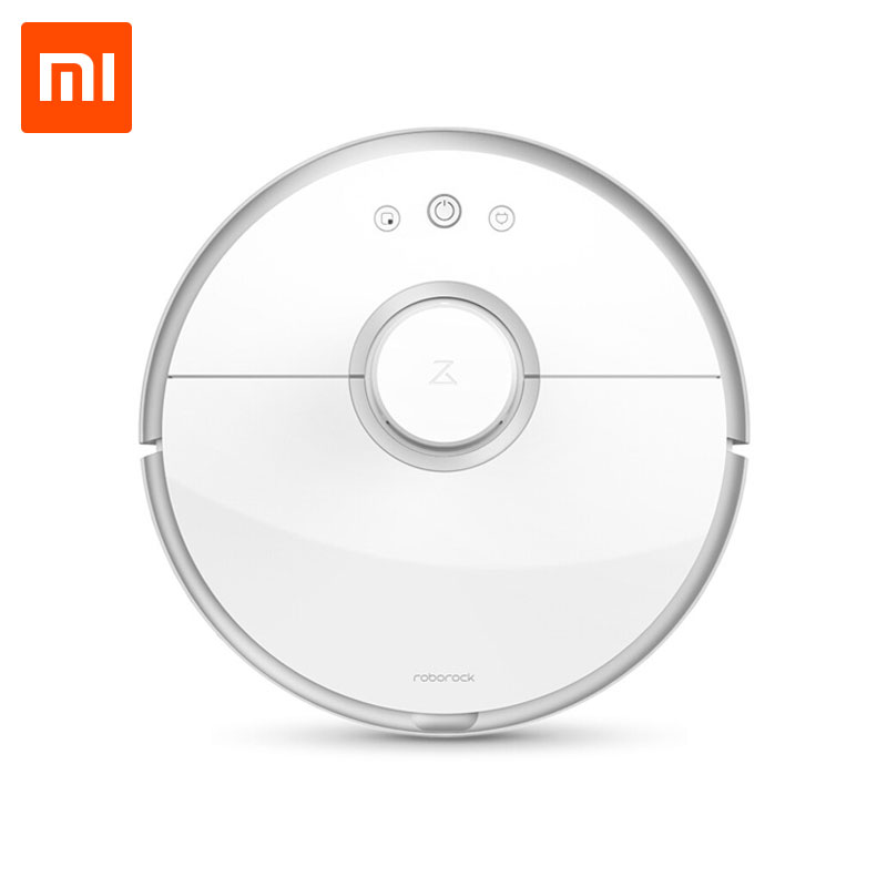 [NO TAX ] Xiaomi Roborock S50 Mi Robot Vacuum Cleaner 2 Intelligent Sweep and Mop for home WIFI APP Control Smart Planned