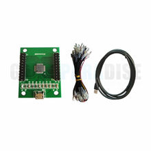 Gain 2 Players USB encoder To Jamma Arcade Controller Support PS3 PC Raspberry Pi wholesale