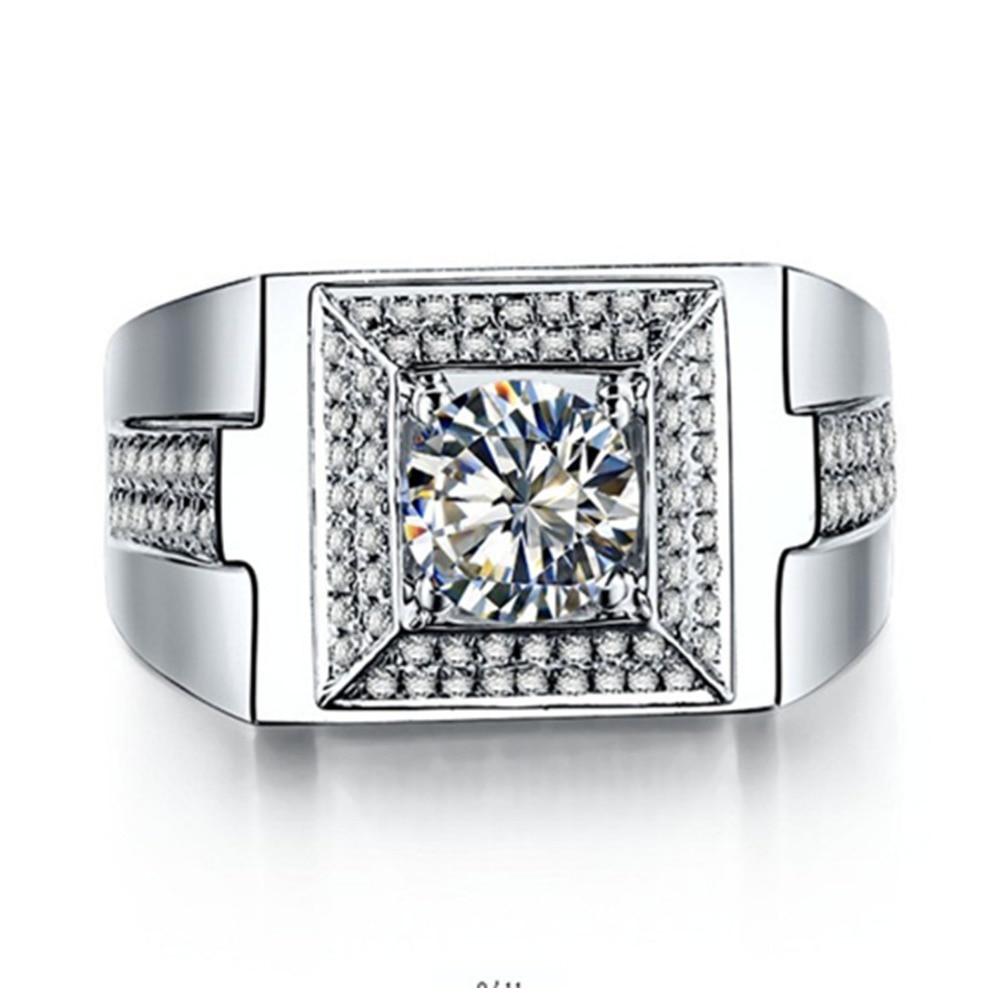 creation bague diamant homme