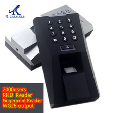 2000users Fingerprint Reader for Access Control RFID reader biometric attendance system Door Access System attendance machine цена