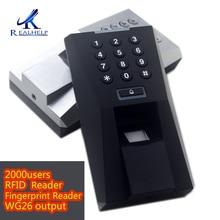 Fingerprint-Reader Biometric Attendance-Machine Access-Control for RFID 2000users