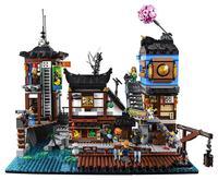 06066 06083 06082 City Series NinjagoINGly City Building Blocks Kids Toys Bricks Compatible With Legolys 70620 70657 Kids Toy