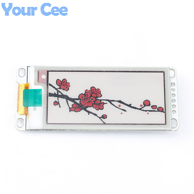 2.13 Inch E-Paper Module E-Ink Display Screen Module Black Red White Color SPI Supports Partial Refresh For Arduino