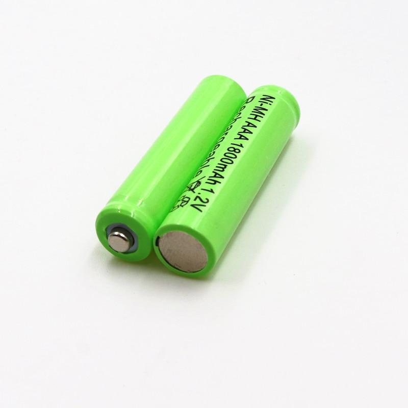 10PCS PINTTENEN 1.2v AAA 3A NIMH 1800mah AAA Battery Rechargeable aaa Batteria ni-mh batteries battery rechargeable FREE SHIPPI