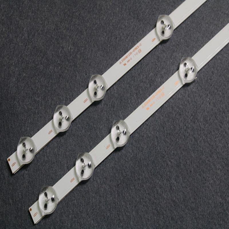 2 PCS 11LED 575 milímetros tira conduzida luz de fundo para VESTEL 32 polegada REV0.2 VES315WNDS-01 32HXC01U 32D1333DB VES315WNDL-01