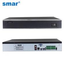Smar Max wyjście 4K 32CH 4MP 24CH 5MP CCTV NVR H.265 Onvif sieciowy rejestrator wideo HI3526 procesor 4 SATA CCTV System NVR