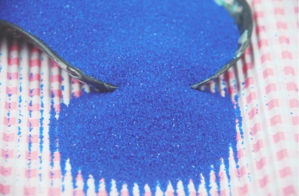 1KG Royal Blue River Sands For Fantasy Miniatures Fairy Garden Gnome Moss Terrarium Decor Crafts Bonsai DIY Decoration