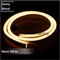 Mini Neon flex 5 meters/lot 2835 SMD led neon tube ,220V  led sign board tube ,Flexible strip warm white  with power cord