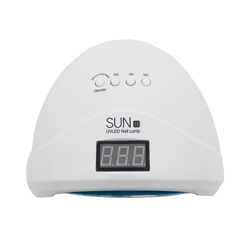 Lámpara LED UV profesional SUN1S de 24 W/48 W, secador de uñas, máquina de manicura de Gel para curado, lámpara UV, lámpara led para secado de uñas Hontiey UV púrpura LED de alta potencia Chip 360Nm 375Nm 385Nm 395Nm 405Nm UVA UVB cuentas de iluminación 3 5 10 20 30 50 100 vatios matriz 3D