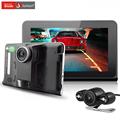 "Junsun 7"" Car DVR Android GPS Navigation Radar Dash Camera Video Recorder Rear view Truck gps navigator FM AVIN WIFI sat nav"