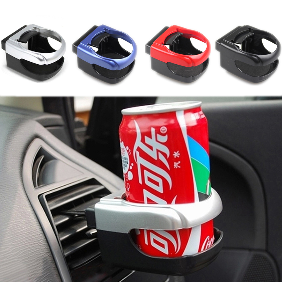 R SODIAL Skull Car Auto Vent Mount Cup Drink Can Bottle Holder