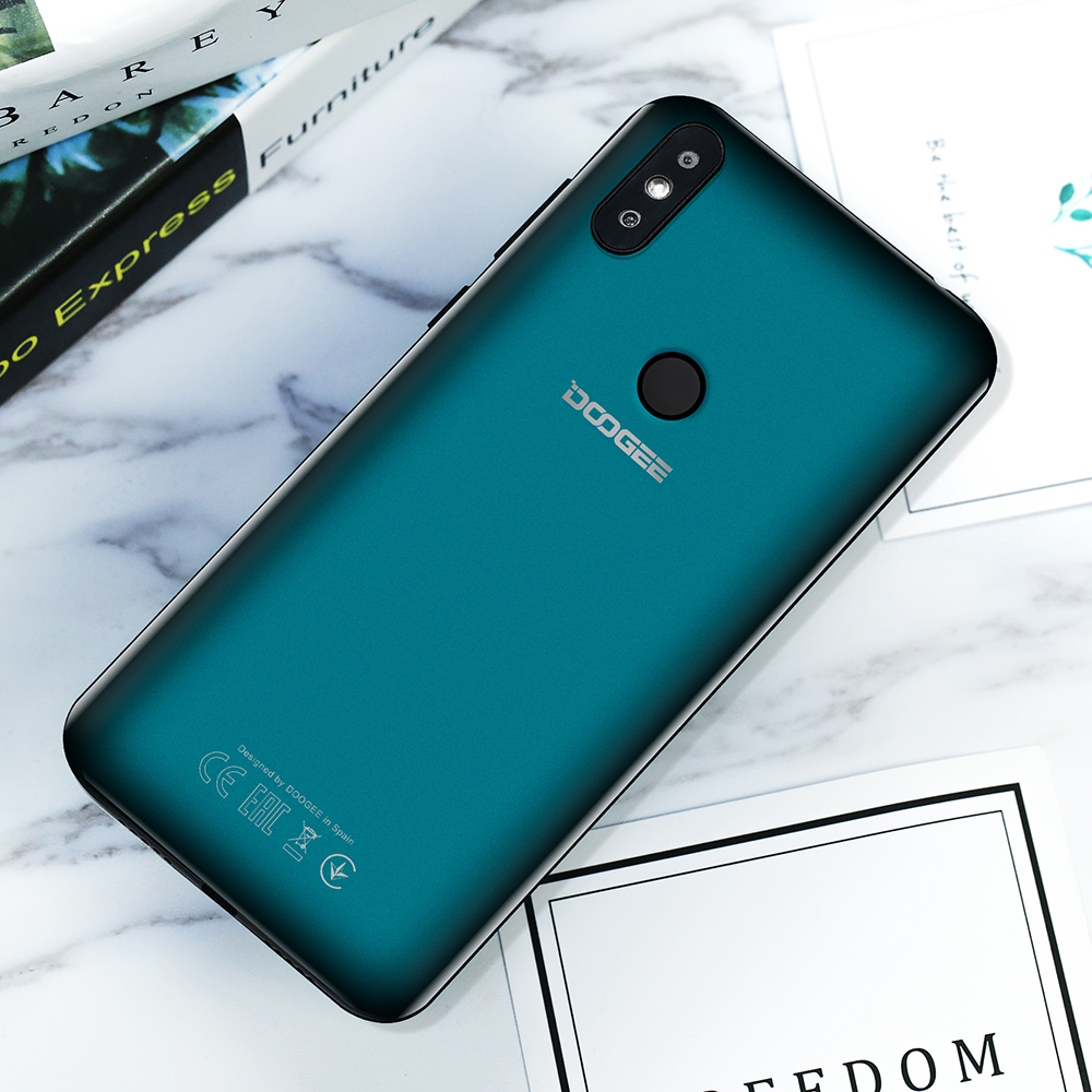 DOOGEE Y8 6 1 inch Waterdrop Screen Smartphone 3GB 16GB 8MP+5MP Face ID  Android 9 0 MTK6739 Quad-Core 3400mAh 4G LTE cellphone