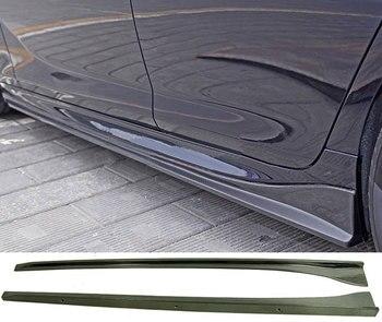 3-D Phong Cách sợi Carbon 4 Cửa Bên váy Phù Hợp Cho XE BMW 6-Series F06 M-Thể Thao M6