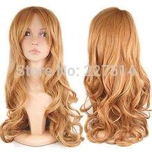 CO .MXJ01456W >Gorgeous Ladies Long Wavy Curly Fancy Dress Full Wig