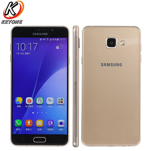 "New Samsung GALAXY A7 A7108 4G LTE Mobile Phone 5.5"" 3GB RAM 32GB ROM Snapdragon 615 Octa Core Android 13MP Dual SIM Smart Phone"