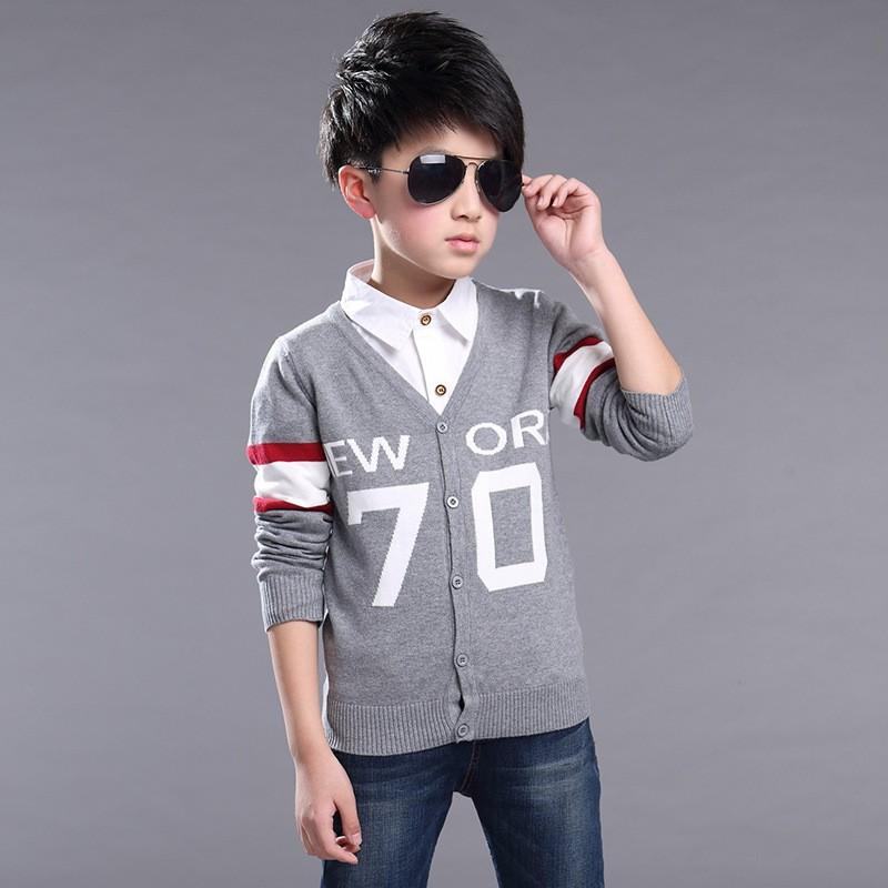 Fashion-Children-Knit-Cardigan-Coats-Big-Boys-Gentleman-V-Neck-Outwear-British-Style-New-York-Letter (1)