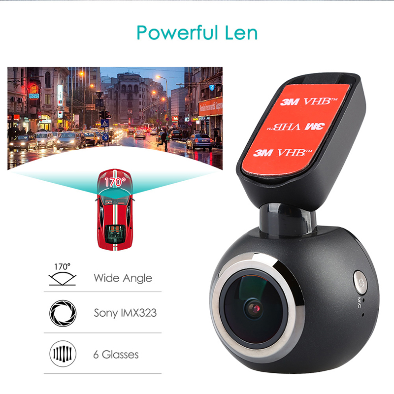 1.54 Dash Camera Car DVR LCD Screen Mini WiFi Car Dash Cam 1080p Video Recorder GPS Logger Night Vision Remote Control Car DVR bigbigroad for peugeot 3008 app control car wifi dvr dual camera video recorder night vision car black box wdr car dash camera
